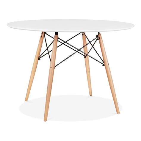 eames dining table eames style white dsw table 110cm dining tables