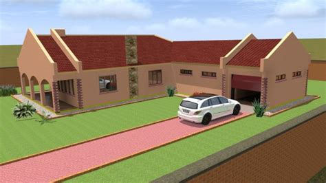 3D HOUSE DESIGN   Building Plans   Harare   Zimbabwe