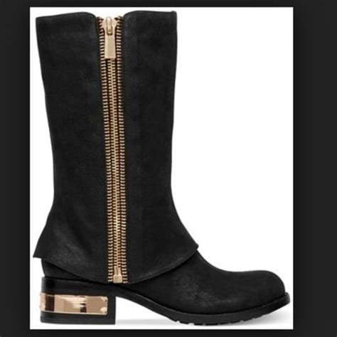 75 vince camuto boots vince camuto black moto