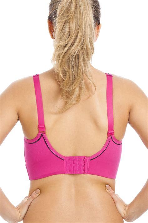 Sport Bra Pink 1580 pink maximum support impact free sports bra