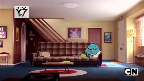 gumballs room gumball watches tv shows