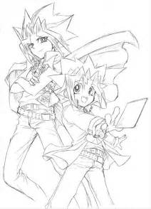 yugioh colotring pages