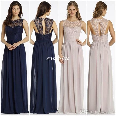 Navy Bridesmaid Dress by New Design Lace Bridesmaid Dresses Navy Blue Chiffon
