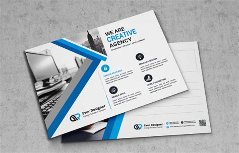 free template for marketing cards 21 marketing postcard templates free premium