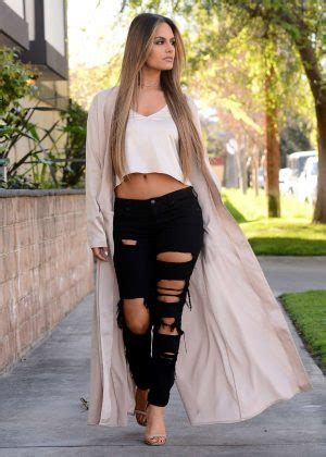 Beverly Tosca pia toscano in ripped leaving a meeting in beverly