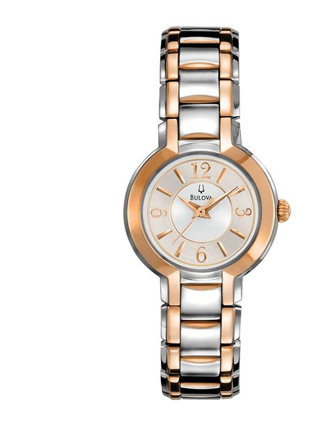 bulova silver and gold tone jewelry