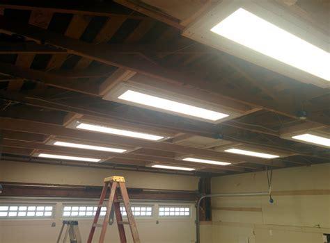 troffer lights in garage