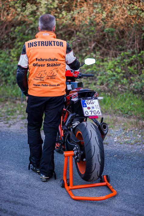 Eigenes Motorrad Für Fahrschule Nutzen by Vorbild
