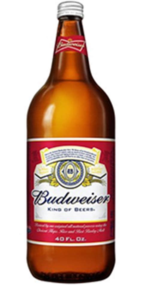 40 oz bud light budweiser 40oz bottle missouri domestic