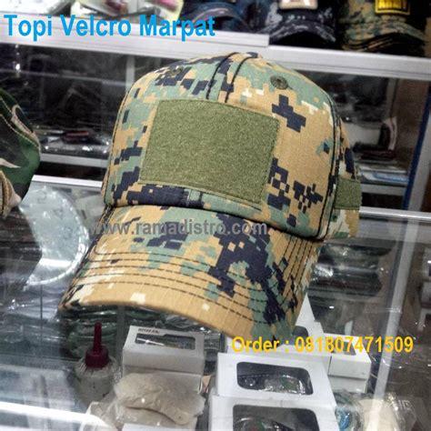 Topi Loreng Marpat Topi Murah jual aneka topi velcro tactical army kulitas bagus klep