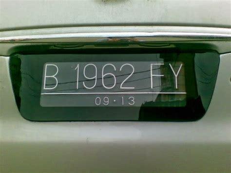 Cover Casing Lapis Plat Nomor Variasi Motor 1 spesialis cover plat mobil pekanbaru