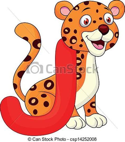 imagenes jaguar caricatura vector clip art de alfabeto j jaguar caricatura