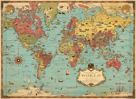 Book Cover Apple 2 3 World Map Fourteen vintage illustrated world map bookmark template free ancientshades