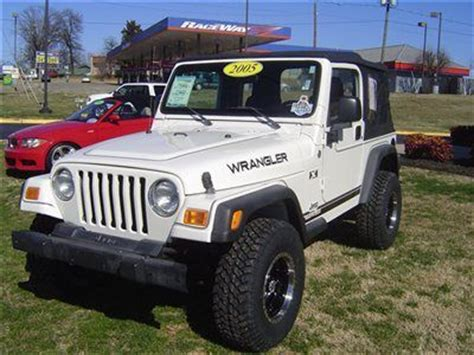 05 Jeep Wrangler Top Find Used 05 Jeep Wrangler X White Lift Kit Added 5