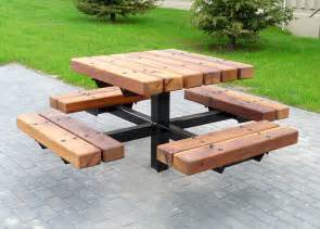Plans For A Picnic Table Bench by Octagon Picnic Table Inspiring Comfort Design Furniture Grezu Home Interior Decoration