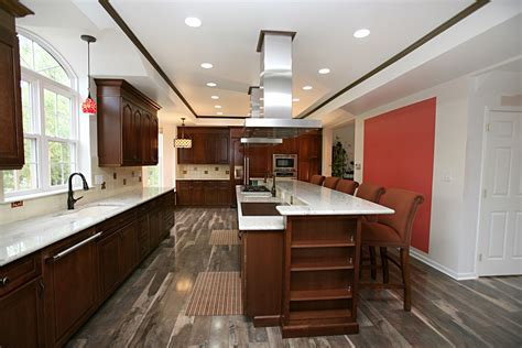 Cherry Cabinets With Wood Floors Hardwood Floors With