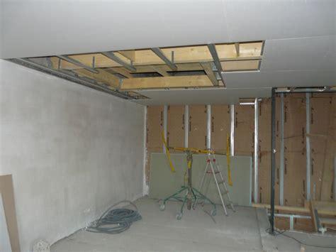 Monter Un Faux Plafond by Monter Un Faux Plafond En Ba13 Luintrt De Poser Un Faux