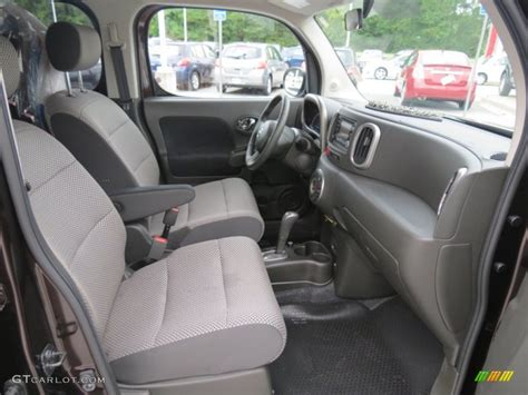 cube cars inside black gray interior 2010 nissan cube krom edition photo