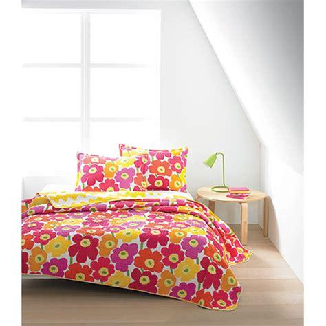 marimekko bedding marimekko unikko pink lokki yellow quilted bedding