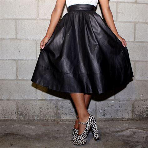 wishlist leather skirt mademoiselle
