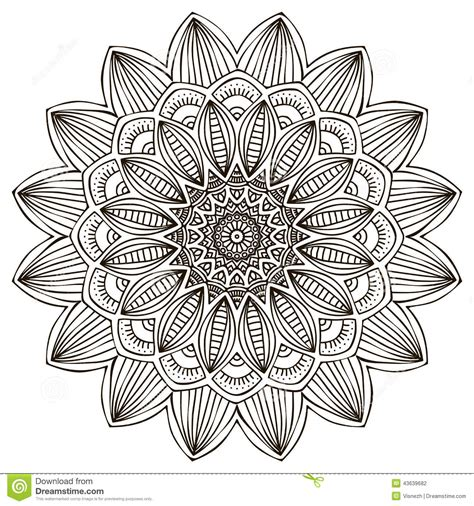 mandala stock vector image of decorate grunge islam