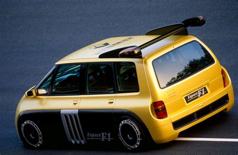 renault minivan f1 a minivan powered by formula 1 the renault espace f1 dyler