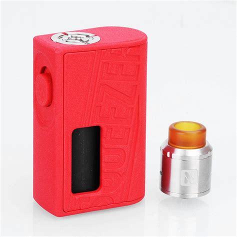 Squeezer Squonk Kit Mod Vape Murah authentic hugo vapor squeezer 10ml bf squonk mod 25mm n rda kit