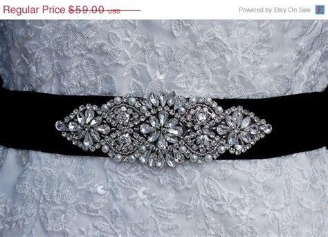 beaded sash black beaded belt wedding sash belt
