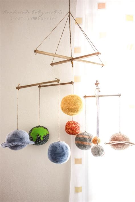Solar System Crib Mobile by Solar System Baby Mobile Made To Order Only 170 00