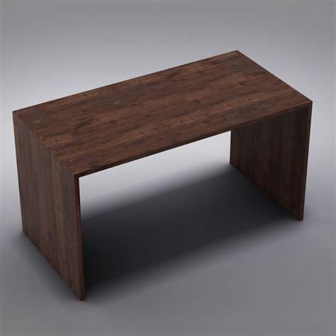 crate barrel desk 3d crate barrel desk model