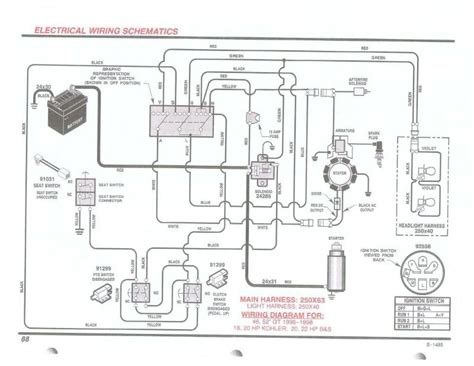 briggs stratton 1 2 hp wiring diagram briggs and stratton