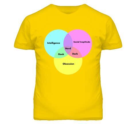 dork dweeb venn diagram t shirt spreadshirt venn diagram dork social ineptitude