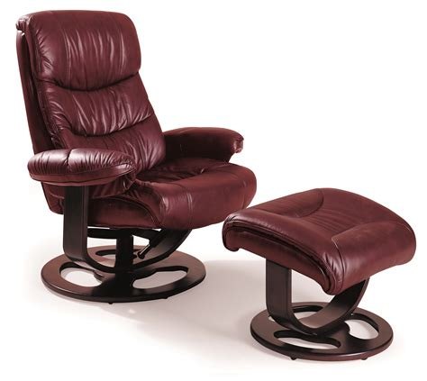 Leather Recliner With Ottoman Rebel Leather Recliner And Ottoman 18521