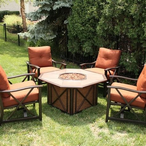 agio haywood pit haywood pit set by agio select patio furniture