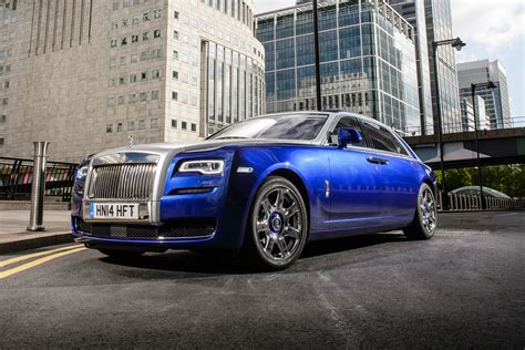 roll royce ghost blue rolls royce dismisses mercedes maybach as a competitor