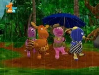 Backyardigans The Of The Jungle It S Drizzling It S Pouring The Backyardigans Wiki Wikia