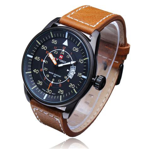 Navyforce Original militair horloge met leren gordel kopen i myxlshop tip