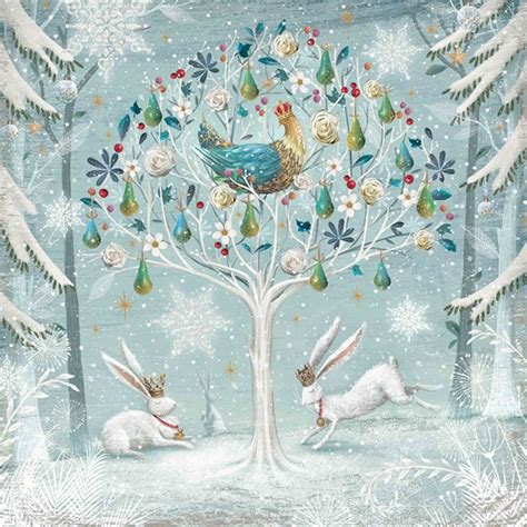 partridge in a pear tree same day delivery greeting cards