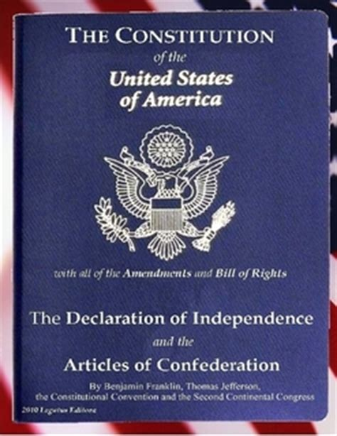 the declaration of independence and the constitution of the united states of america books the constitution of the united states of america the