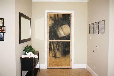 Temporary Interior Door by Temporary Door Black Easy To Install Instant Screen Door