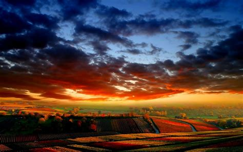 colorful sky wallpaper colorful sky fields autumn wallpapers colorful sky