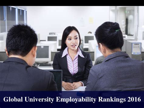Mba Rankings 2016 India by Global Employability Rankings 2016 Top 25
