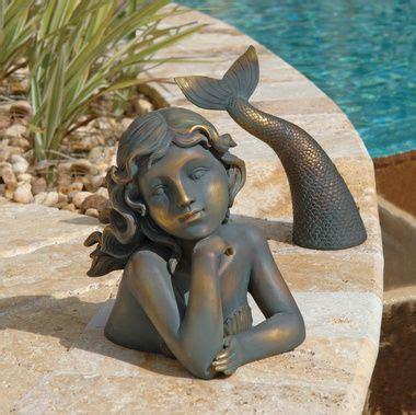 merissa siren of the sea mermaid statue garden art