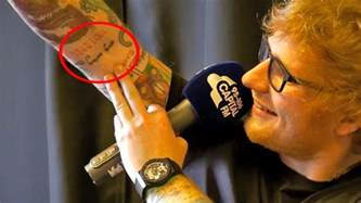 watch ed sheeran has revealed that he lied about that