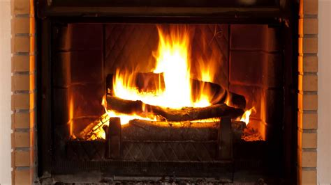 Crackling Fireplace Sound log cabin relaxing crackling sound