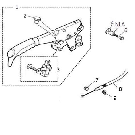 Car Handbrake Types by Handbrake Lever And Cable Terrys Jaguar Parts