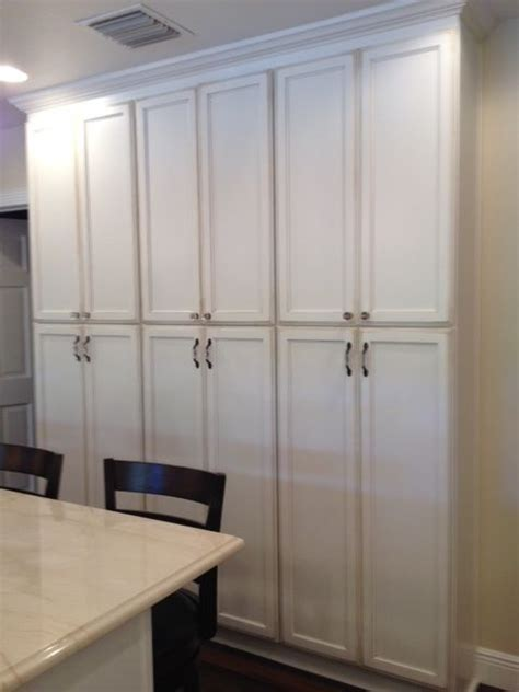 floor to ceiling pantry cupboards coastal kitchen