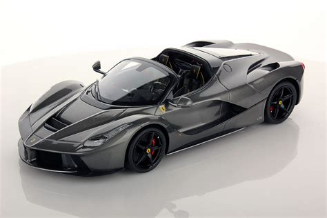 la black laferrari aperta 1 18 mr collection models