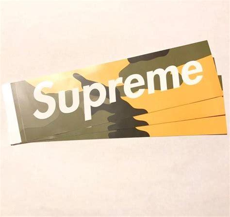 Supreme Stickers Box Logo Original 1 supreme box logo sticker copvsdrop