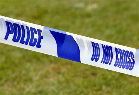 police tape police seek man after wiltshire woman found dead the